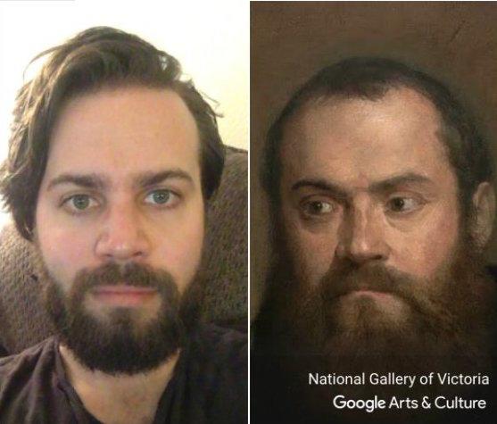 Kendinize Benzeyen Sanat Eserini Bulun: Google Arts & Culture