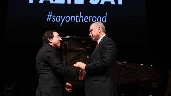 Fazıl Say, Erdoğan'ın Konserine Gelmesi Üzerine Bir Yazı Kaleme Aldı
