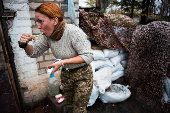 Bu Fotoğraflar Konuşuyor; Savaşta Kadın Ve Diğerleri