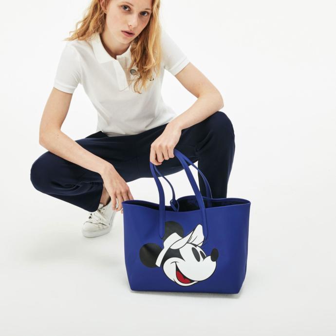 Lacoste x di̇sney anna kadın mavi̇ çanta