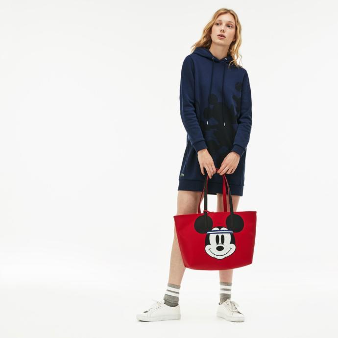 Lacoste x di̇sney anna kadın kırmızı çanta