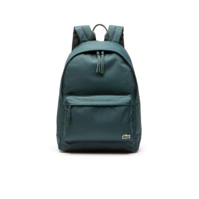 Lacoste erkek yeşi̇l sırt çantası