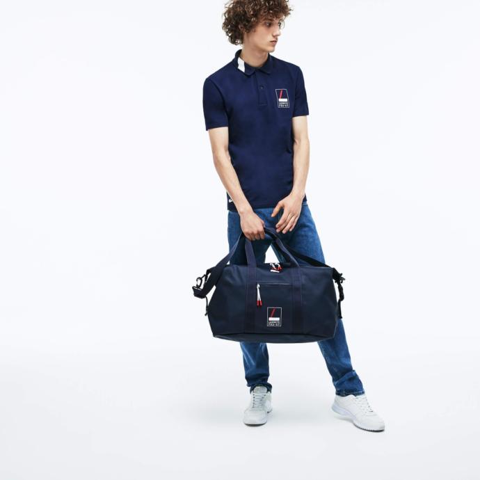 Lacoste erkek l.12.12 concept fantai̇si̇e lacı̇vert spor çantası
