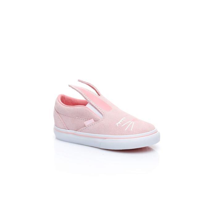 Vans Td Slip-On Bunny Çocuk Beyaz Sneaker