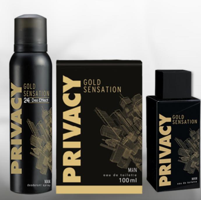 Odunsu kokularla ferahlığı birleştiren her zaman maceraya hazır, kararlı erkeğin kokusu: PRIVACY Man Gold Sensation