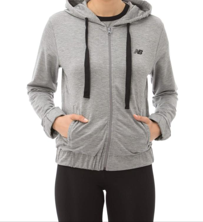 New Balance Gri Sweatshirt