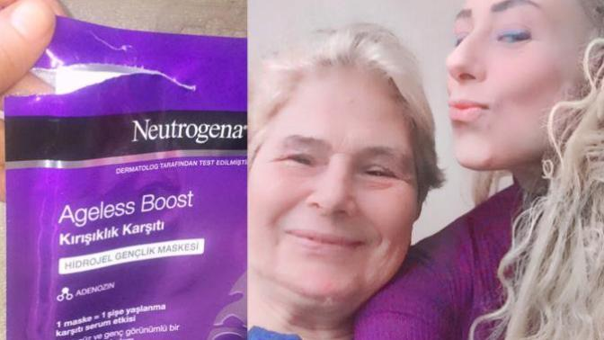 Neutrogena Kırışıklık Karşıtı Maske ile Fiziken Çok Değil ama Ruhen Çok Gençleşen Annem!