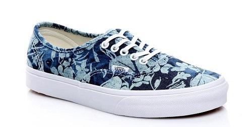 Vans Authentic Kadın Mavi Sneaker