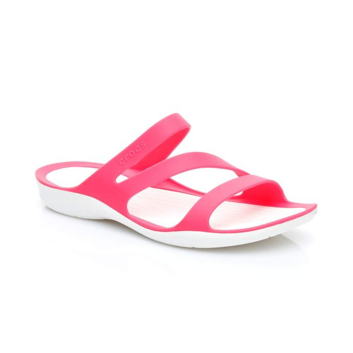 Crocs Swiftwater Sandal Kadın Pembe Terlik