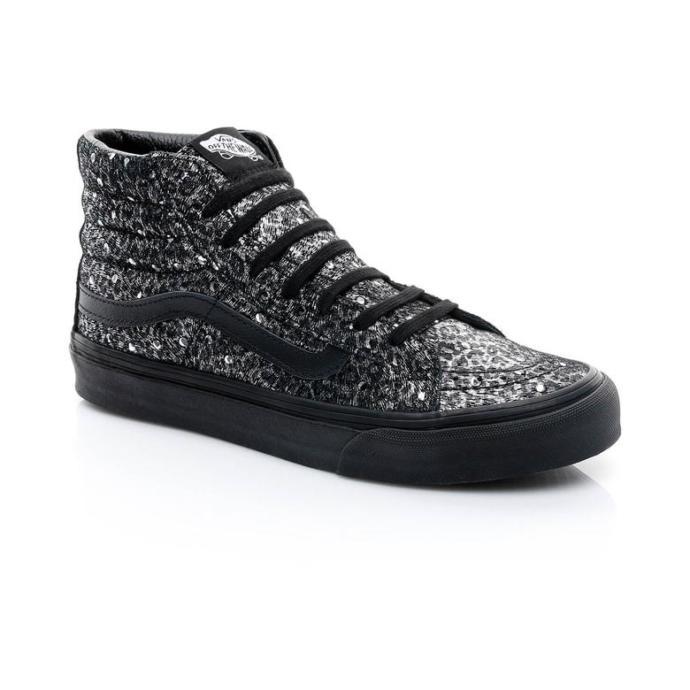 Vans Sk8 Hi Kadın Sıyah Sneaker