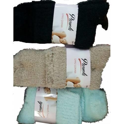 Pamuklu Uyku Çorabı