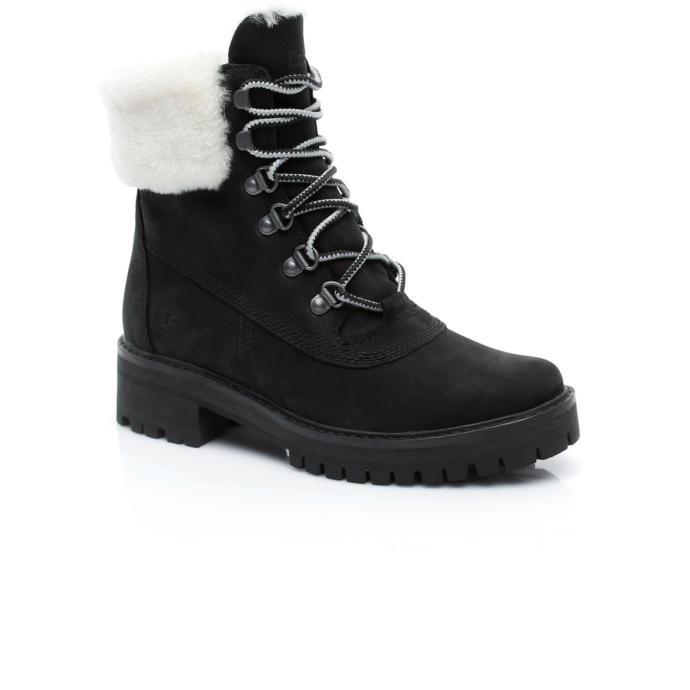 Karlı günlerde ayağınızı üşütmeyecek şık bir bot!