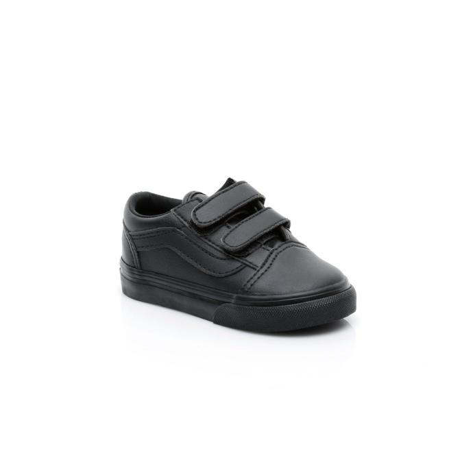 Siyah çırçıtlı spor ayakkabı