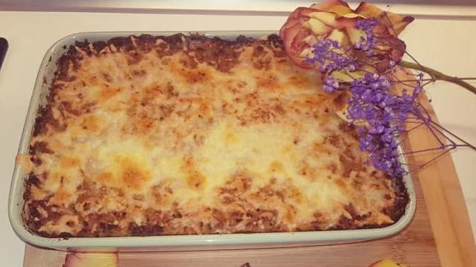 Fırında Peynirli Patatesli Köfte Tarifi