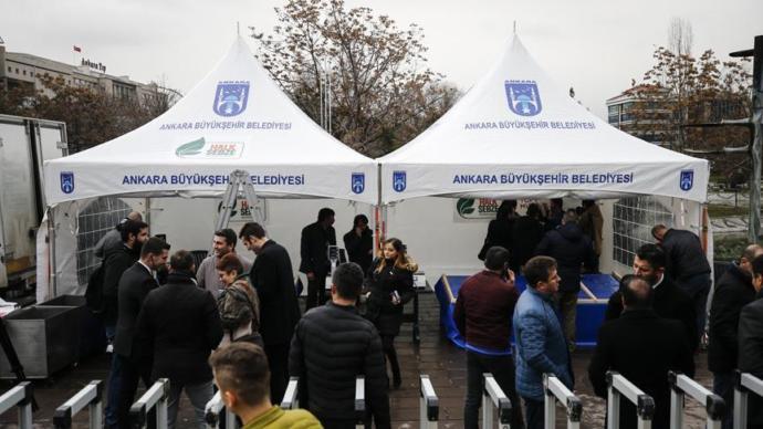 Ankara  Büyükşehir Belediyesi Sebze Satacak