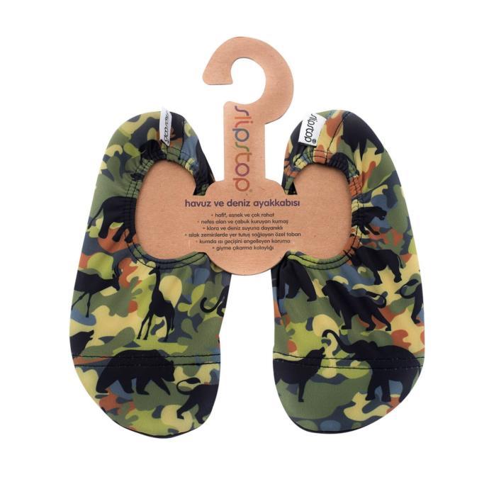 Safari desenli ayakkabı