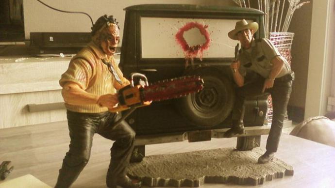Şerif Hoyt ve Leatherface