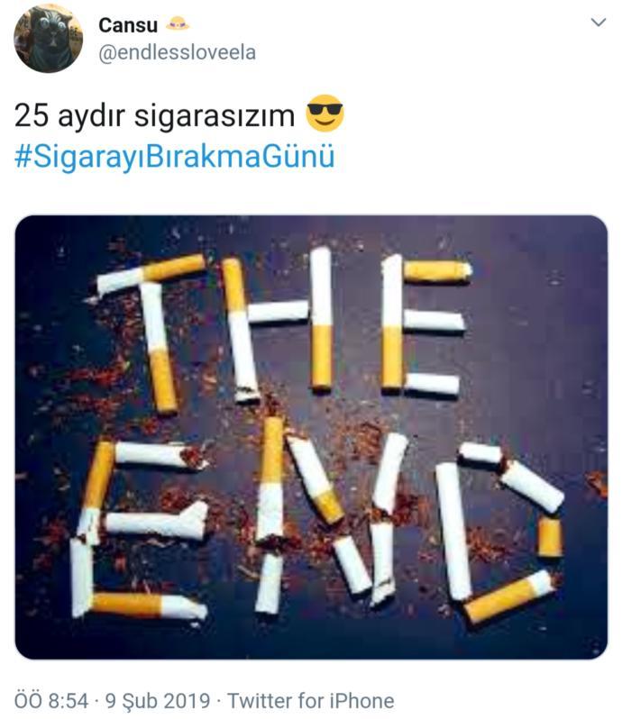 Kibriti Umuda Çak, Sigaraya Değil: Twitter'da #SigarayıBırakmaGünü