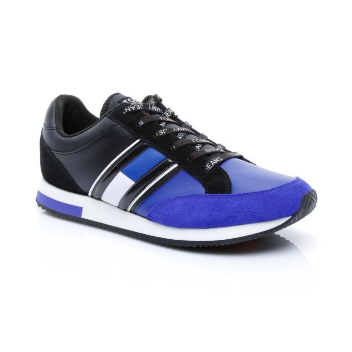 Tommy Hilfiger Casual Retro Erkek Siyah Sneaker