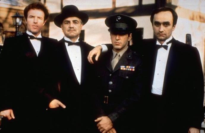 Santino, Vito, Michael, Fredo