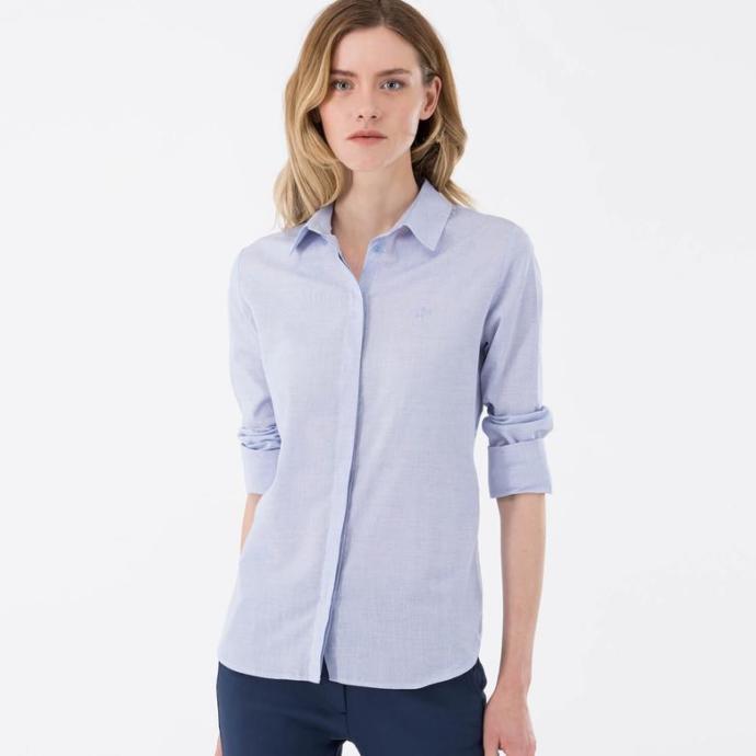 Tatlı Bir Mavisi Olan Gömlek