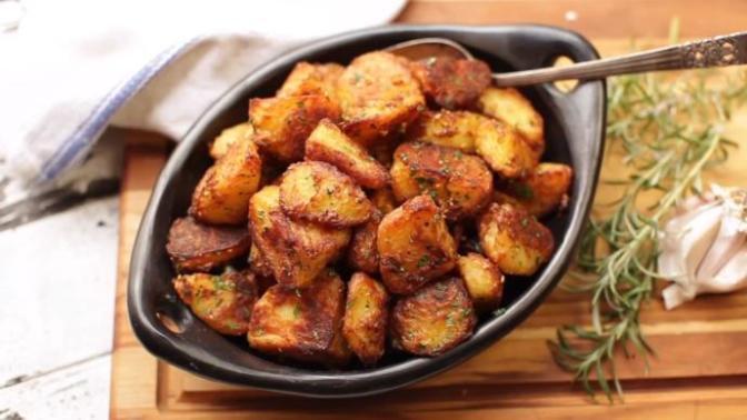 Fırında Baharatlı Dilim Patates Tarifi