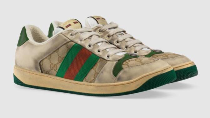 Gucci'nin Kirletilmiş Ayakkabısının Fiyatı Şaşırtıyor