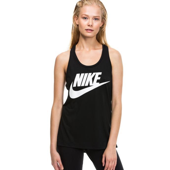 Nike Essential Kadın Siyah Çarpraz Sırtlı Atlet