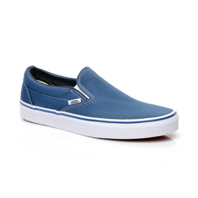 Vans Ua Classic Erkek Mavi Slip-On