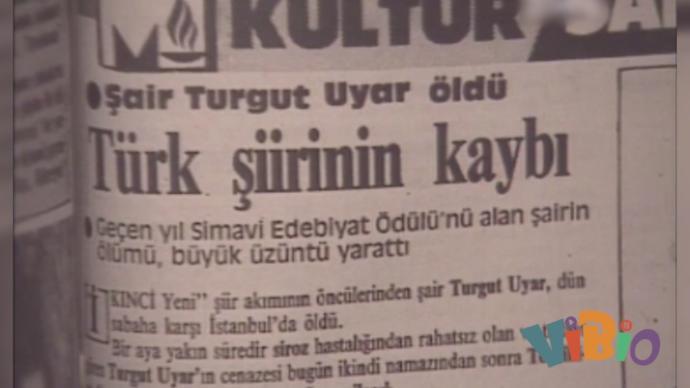Bir Yanı Mavi, Bir Yanı Siyah; Bir Yanı Umut Dolu, Bir Yanı Kırgın Yazar: Turgut Uyar