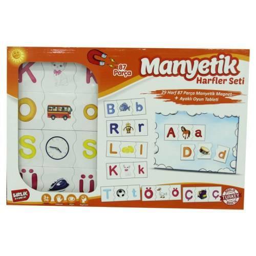 Manyetik Alfabe Eğitici Oyun Seti