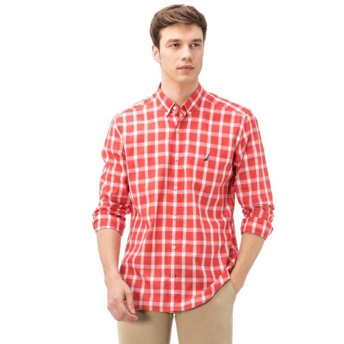 Nautica Erkek Kırmızı Gömlek