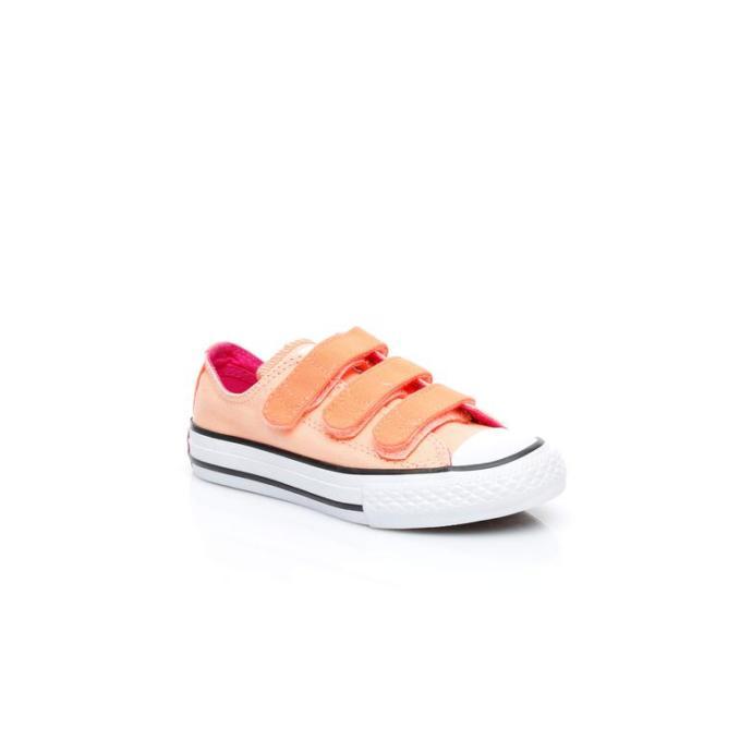 Converse Chuck Taylor All Star 3V Çocuk Turuncu Sneaker