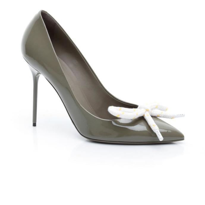 Burberry Kadın Gri Ayakkabı