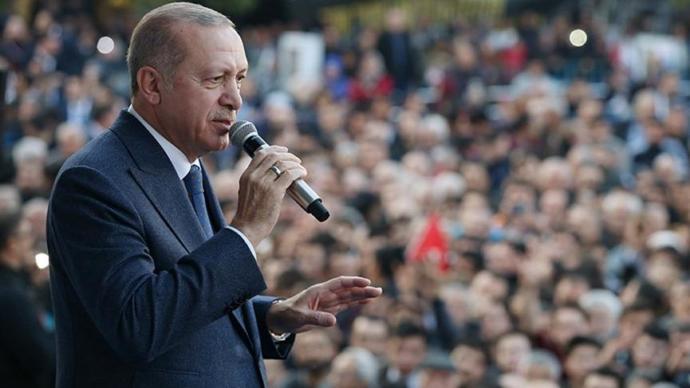 Erdoğan, Manisa'da Vatandaşlardan Destek İstedi