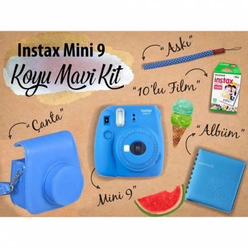 Fujifilm Instax Mini 9 - Koyu Mavi