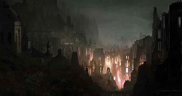 Şehir hakkında bilgi az, en bilinen şey ışığı soğuran taşlardan yapılı olduğu