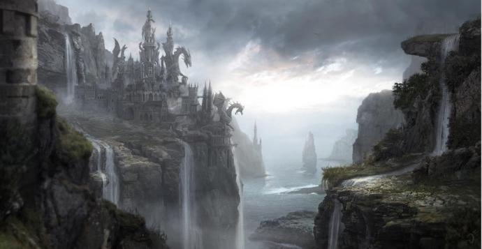 Ejderhalar ile birlikte büyük bir büyü gücüne de erişen Valyria, özellikle taşı büyüyle şekillendirip şehir kurmuştur