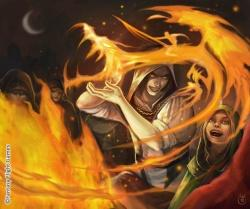 Kan ve Ateş temelli, kurban prensibine dayanan doğu büyüsü
