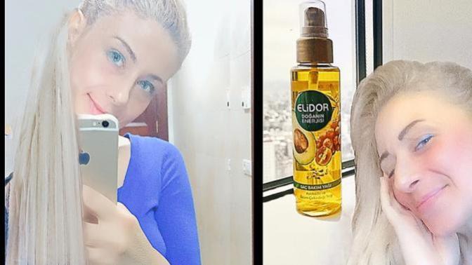 ''Elidor Yeni Saç Bakım Yağıyla, Saçlarıma Enerji Gelsin!'' Dedim, Avokadolu Olanını Denedim!