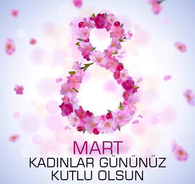 8 Mart Kadınlar Günü 💐