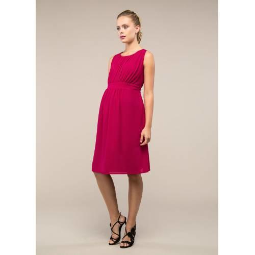 Pembe Şifon Elbise