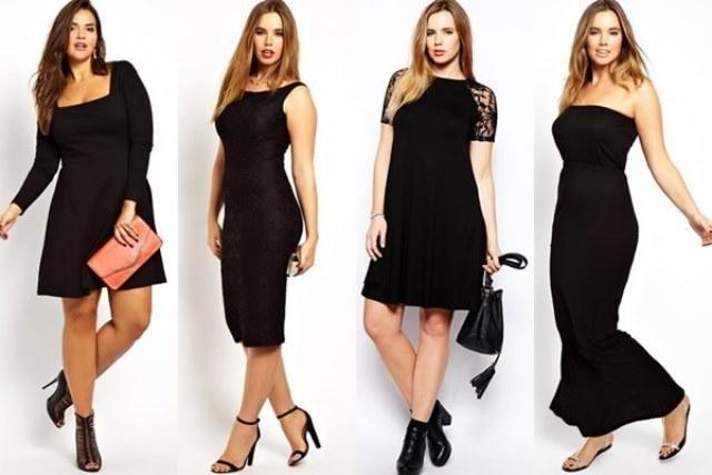 Her Vücut Tipine Uygun Siyah Elbise Modelleri