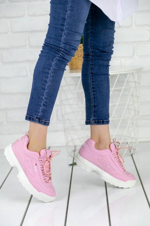 Pembe Spor Ayakkabısı