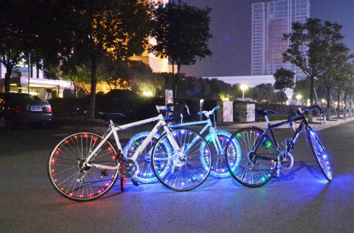 Bisiklet İçin Aydınlatmalar