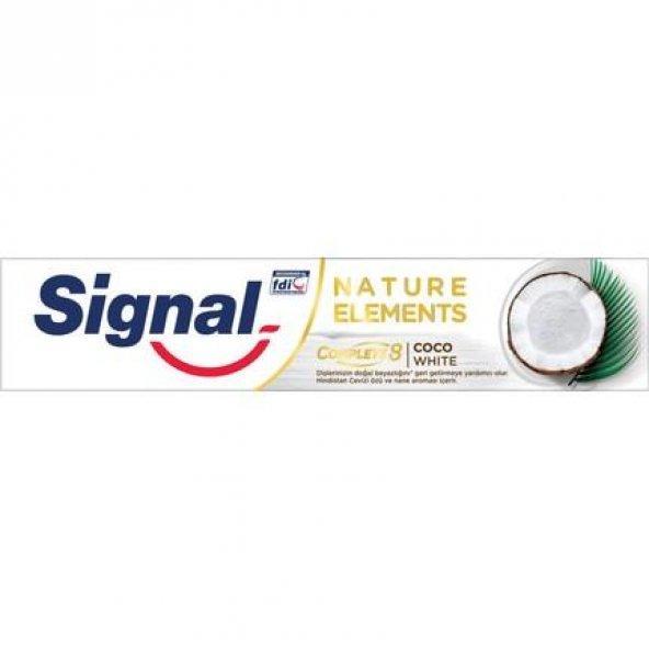 Signal Diş Macunu 75ML Coco White