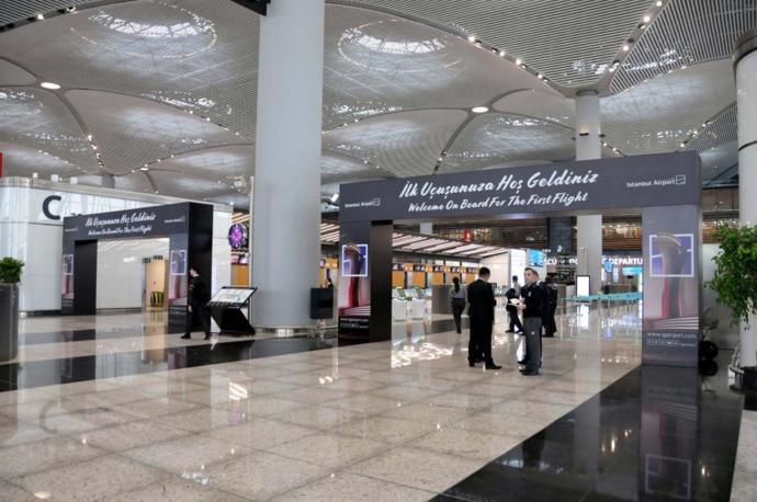 İstanbul Havalimanı'ndan İlk İzlenimler (Büyük Göç)