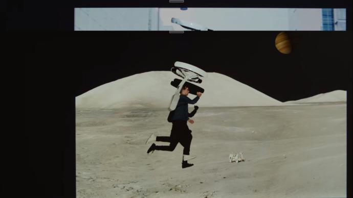 Sanki Ay'da Yürüyormuş Gibi: İşte Karşınızda Lunavity!