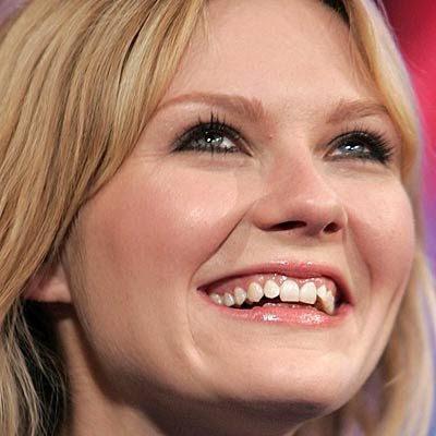 Kirsten Dunst dişleri