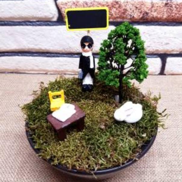 Öğretmenler Günü Temalı Minyatür Bahçe